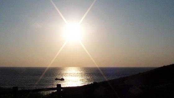 三宅島の朝