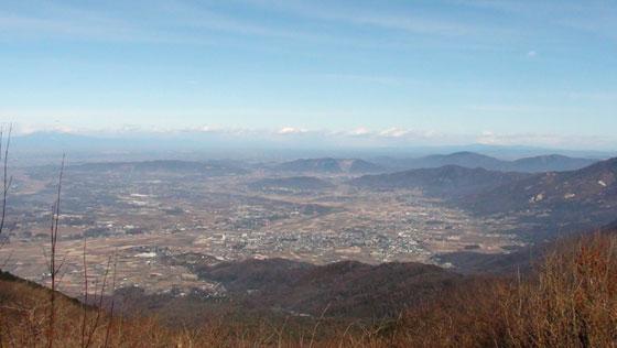 筑波山からの眺め