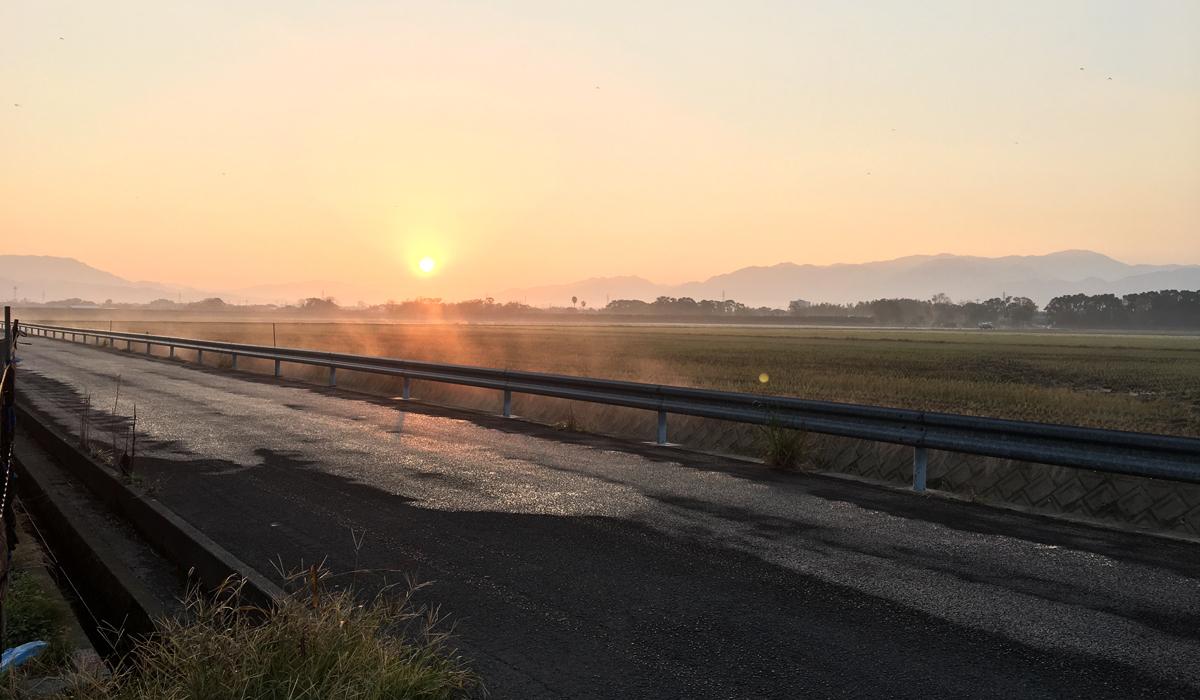 出水の日の出