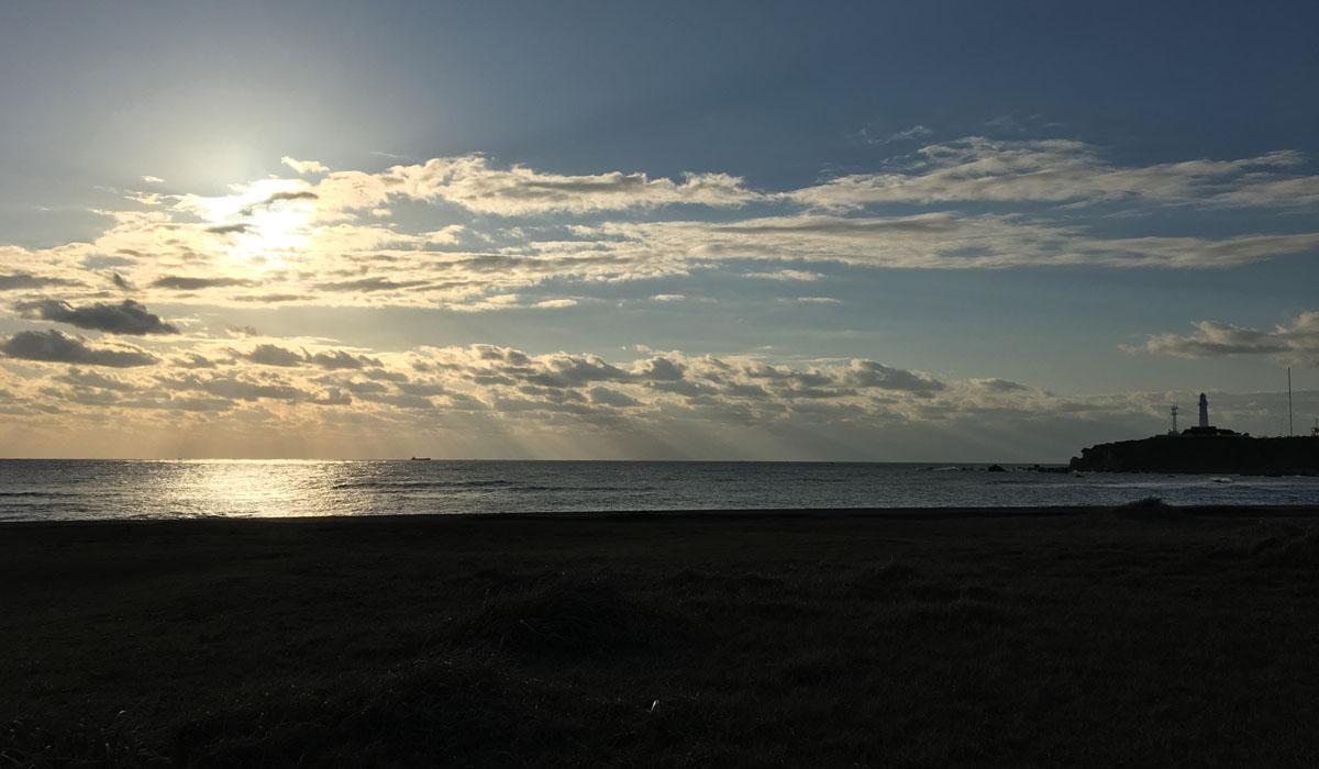 朝の犬吠埼
