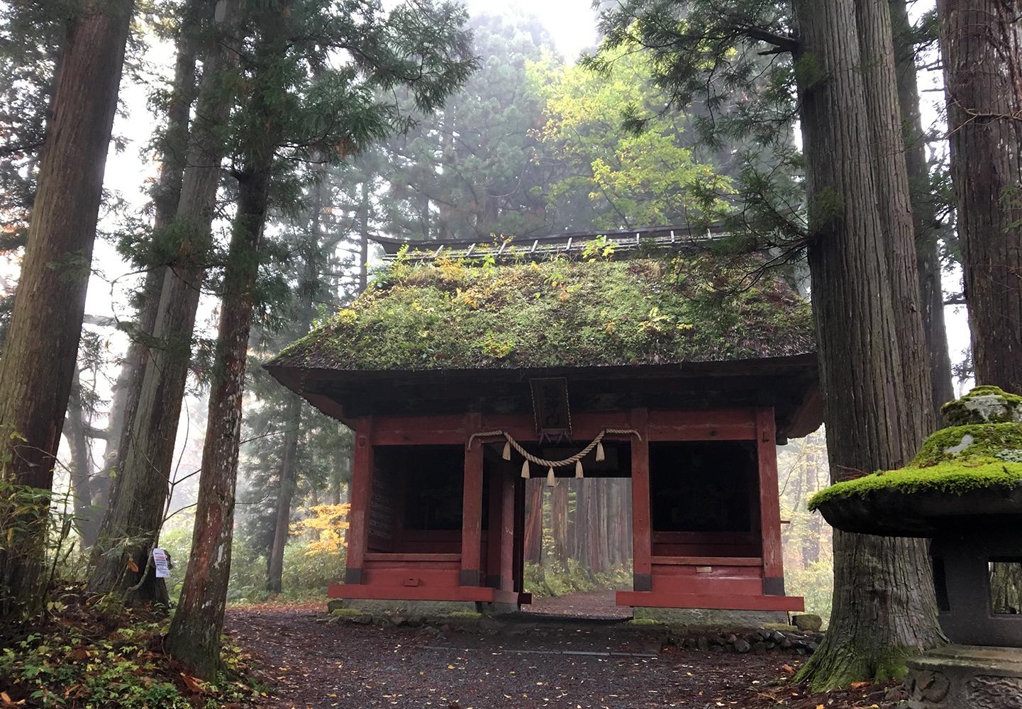 """""""戸隠神社・隋神門"""""""